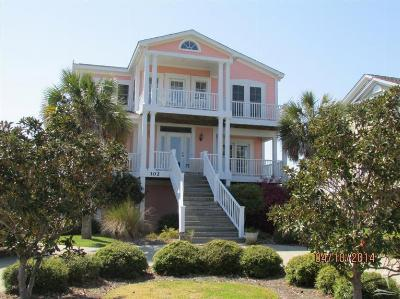 Holden Beach Single Family Home For Sale: 102 Heron Drive Drive