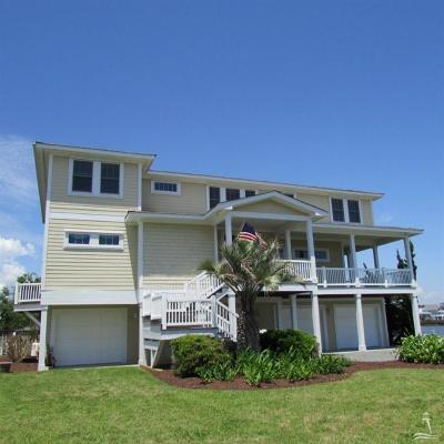 Holden Beach Single Family Home For Sale: 201 Greensboro Street