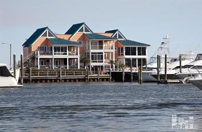 Wrightsville Beach Condo/Townhouse For Sale: 12 Marina Street #B-1