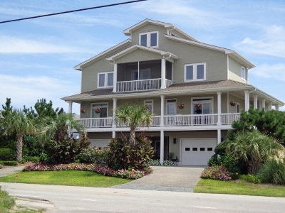 Surf City Single Family Home For Sale: 1610 S S Shore Drive