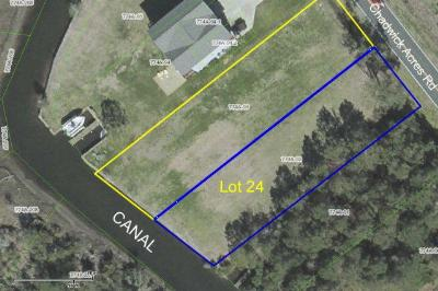 Sneads Ferry Residential Lots & Land For Sale: 456 Chadwick Acres
