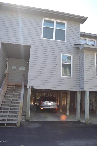 Surf City Condo/Townhouse For Sale: 116 Crosswinds Drive #116
