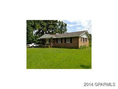 Greenville NC Single Family Home For Sale: $45,000