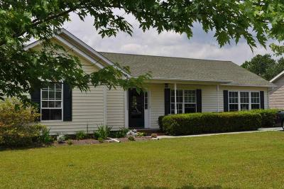 Sneads Ferry Single Family Home For Sale: 102 Granny Drive