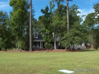 New Bern Single Family Home For Sale: 3501 Cranberry Lane