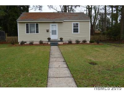 New Bern NC Single Family Home For Sale: $64,900