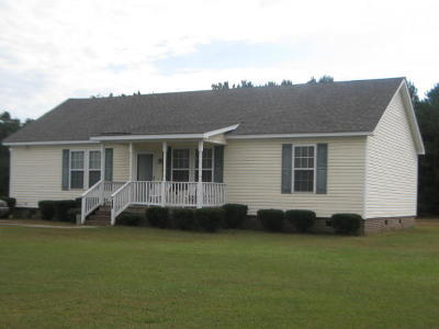 Edgecombe County Single Family Home For Sale: 202 Bruton Craft Lane