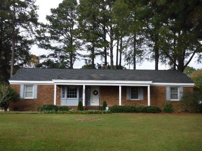 Nash County Single Family Home For Sale: 3212 Ridgecrest Drive