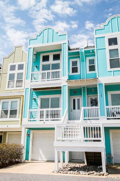Kill Devil Hills Condo/Townhouse For Sale: 1105 Cambridge Road