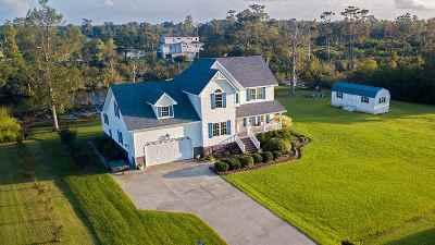 Columbia NC Single Family Home For Sale: $349,000