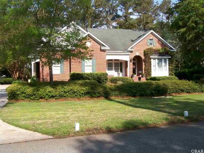Manteo Single Family Home For Sale: 129 Weir Point Drive