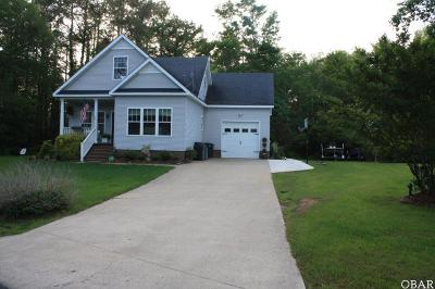 Manteo Single Family Home For Sale: 195 Meekins Drive