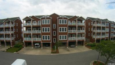 Manteo Condo/Townhouse For Sale: 804 South Bay Club Drive