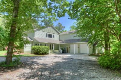 Kitty Hawk Single Family Home For Sale: 5003 The Woods Road