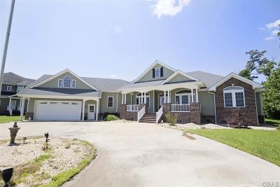 Elizabeth City Single Family Home For Sale: 505 Pointe Vista Drive