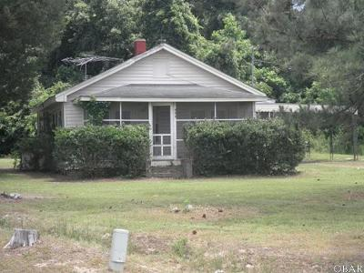 Single Family Home For Sale: 469 N Nc Hwy 37