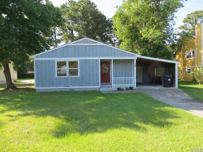 Kill Devil Hills Single Family Home For Sale: 308 W First Street