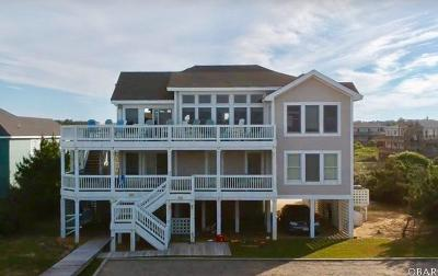 Southern Shores Single Family Home For Sale: 180 Ocean Boulevard