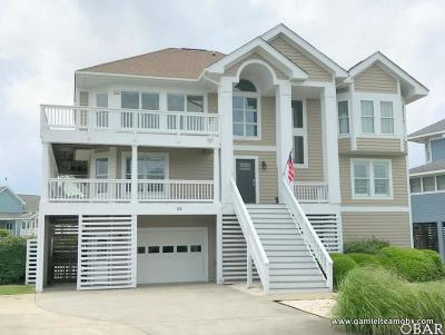 Dare County Single Family Home For Sale: 24 Hammock Drive
