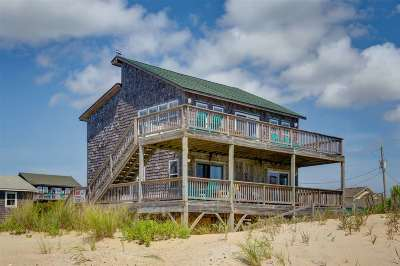 Rodanthe Single Family Home For Sale: 23237 Surf Side Drive