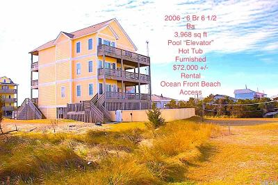 Rodanthe Single Family Home For Sale: 24245 Atlantic Drive