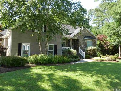 Manteo Single Family Home For Sale: 133 Weir Point Drive