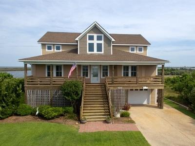 Nags Head Single Family Home For Sale: 7532 Cedar Island