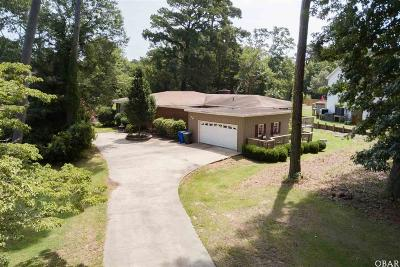 Southern Shores Single Family Home For Sale: 134 W Holly Trail
