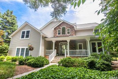 Southern Shores Single Family Home For Sale: 70 Gravey Pond Lane