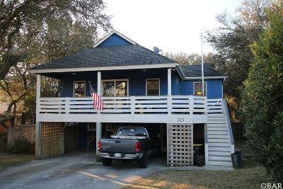 Kill Devil Hills NC Single Family Home For Sale: $299,000