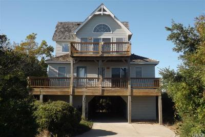 Nags Head Single Family Home For Sale: 210 W Bays Edge