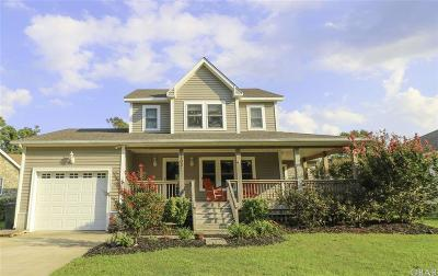Nags Head Single Family Home For Sale: 203 W Bridge Lane