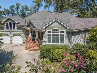 Kitty Hawk Single Family Home For Sale: 5005 Martins Point Road