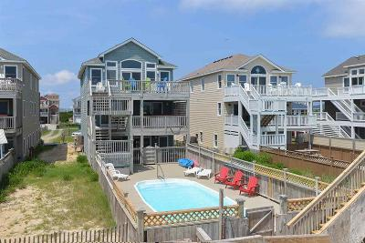 Nags Head Single Family Home For Sale: 6921 S Virginia Dare Trail