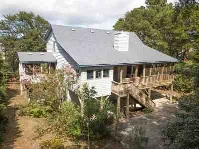 Kill Devil Hills Single Family Home For Sale: 214 Sir Chandler Drive