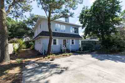 Kill Devil Hills Single Family Home For Sale: 1101 W Sportsman Drive