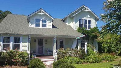 Manteo Single Family Home For Sale: 105 John Borden Street