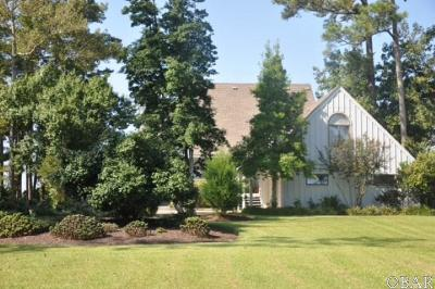 Kitty Hawk Single Family Home For Sale: 4052 Martins Point Road