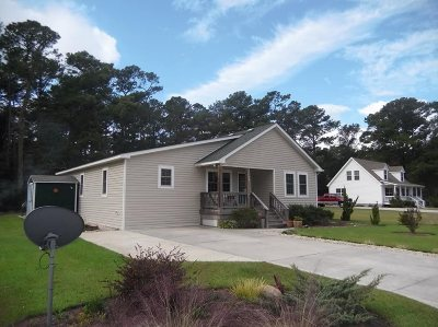 Manteo Single Family Home For Sale: 144a Holly Ridge Road