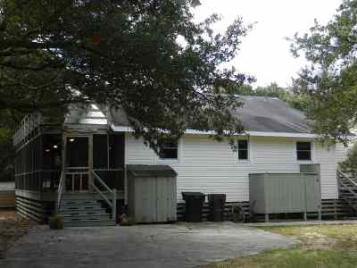 Kitty Hawk, Southern Shores Single Family Home For Sale: 19 First Avenue