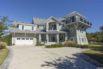 Corolla NC Single Family Home For Sale: $899,000