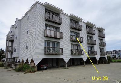 Kill Devil Hills Condo/Townhouse For Sale: 804 2b S Memorial Boulevard