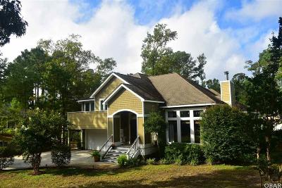 Kitty Hawk Single Family Home For Sale: 3016 Creek Road