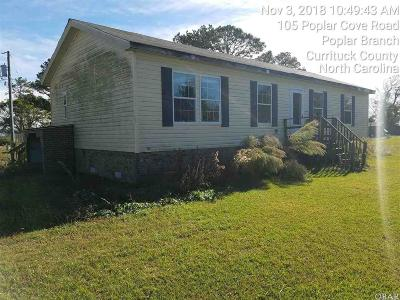 Currituck County Single Family Home For Sale: 105 Poplar Cove Road