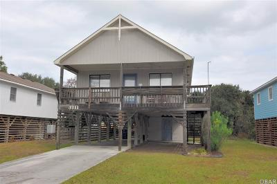 Nags Head Single Family Home For Sale: 3111 S Wrightsville Avenue
