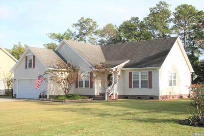 Manteo Single Family Home For Sale: 106 First Colony Court