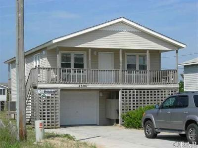 Kitty Hawk, Southern Shores Single Family Home For Sale: 4806 N Virginia Dare Trail