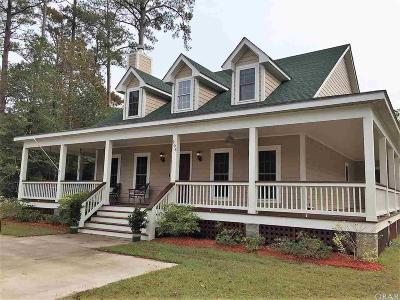 Manteo Single Family Home For Sale: 206 Brakewood Road