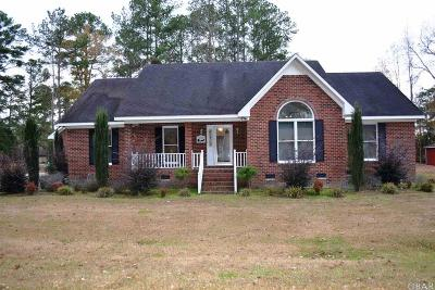 Windsor NC Single Family Home For Sale: $195,000