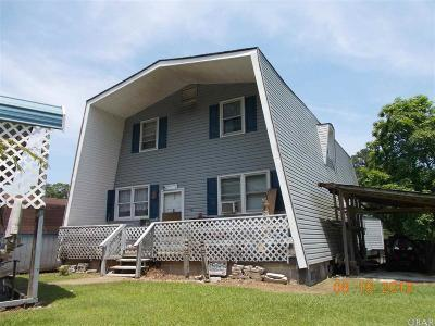Hertford NC Single Family Home For Sale: $99,000